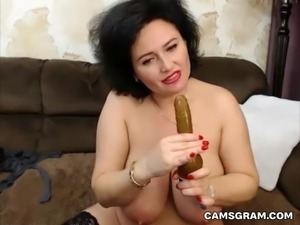 Magnificent Milfy Is Pleasured In A Solo Homemade Act