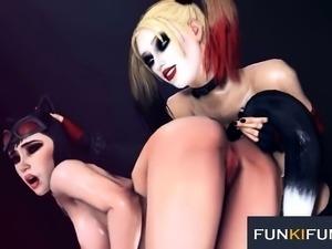 BATMAN HARLEY QUINN 3D SEX COMPILATION PART 6