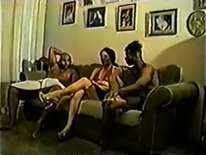 Mature interracial threesome bitches