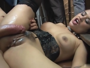 Massive cocks are all Alice Axx wants up her holes
