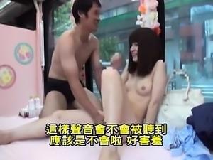 Awesome Japanese hardcore blowjob sexy babe