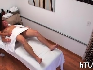 Extra curvy honey gives massage than goes dirty