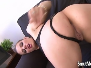 Sexy girl Mona Lee big black cock in her ass