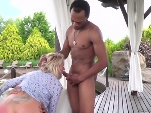stuffed with two black dicks