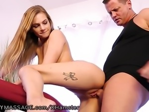 FantasyMassage Sydney Cole Takes StepBrothers Load on Ass