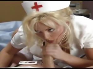 Krankenschwester holt die Spermaprobe