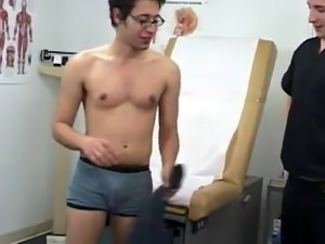 Blowjob at male physical exam gay xxx I began again with