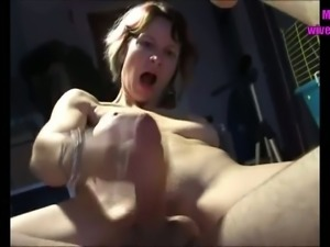 Amateur wives are the best and these chicks know how to please their hubbies