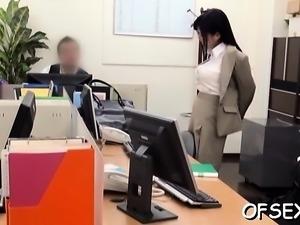 Female domination on the job