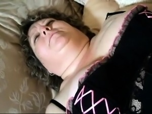 Chunky mature lady enjoys every thrust of cock in her pussy