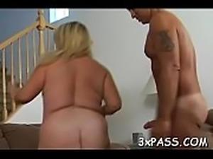 Great sex with corpulent slut