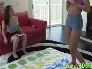 Hot amateur lesbians lick