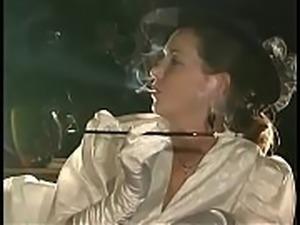 Colight Smoking Fetish Ivy Smoking - 3 Holder 2 Elegant Hat Gloves