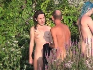 Cap dagde beach voyeur 3 swingers sex beach