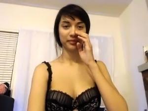 Russian hottie jitka solo masturbation