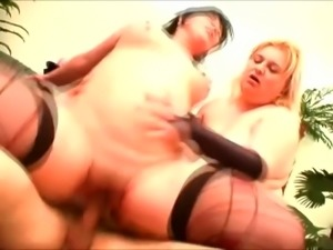 This guy has an exclusive taste for fat sluts and he loves FFM threesomes