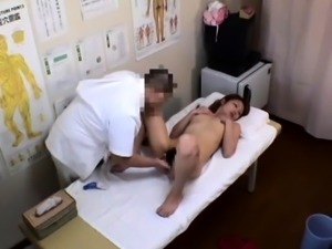 Sweet Japanese babes getting pleased on the massage table