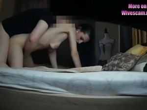 This skinny MILF likes guys to bang her tight fuckhole on camera