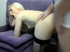 Teen Anal Doggystyle Sex On The Floor