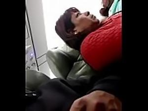Flashing dick en el avion