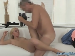 smalltits beauty rides cock on sextape
