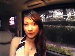 Stacked Japanese beauty in lingerie enjoys a wild fucking