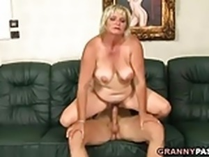 Fat Granny Totally Destroyed By A Young Guy