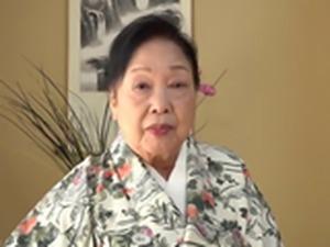Japanese Grandma Kurosaki Reiko 80 Brthday
