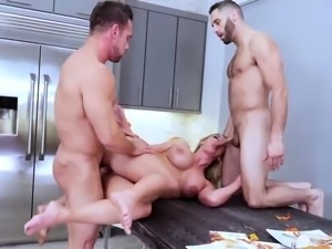 One happy step family Army Boy Meets Busty Stepmom