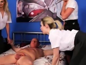 Hot Ladies Sucking and Wanking
