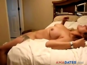 Wife made me so horny that I had to cum twice