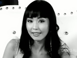 Attractive Japanese porn actress Marica Hase in quite nice xxx interview
