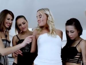 Lovable hottie from the Czech Republic Emylia Argan is fond of kinky lesbian sex