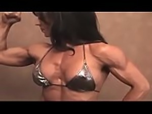 muscle woman vintage amazing
