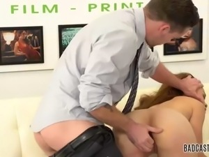 adorable jamie marleigh fucks on casting