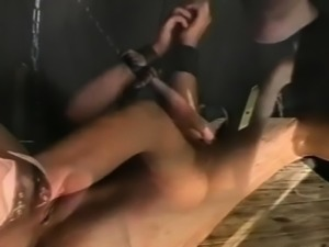Naughty bitch gets punished in bizarre humiliation mode