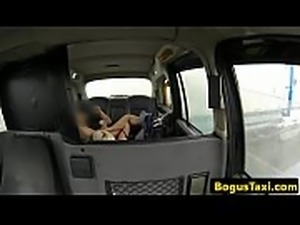 Cocksucking milf pussylicked by taxi driver