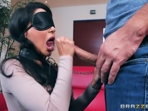This hot Latina milf knows how to seduce spoiled and fastidious Keiran Lee,...