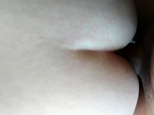 Amateur doggystyle in POV