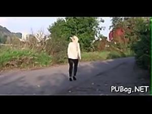 Explosive cock sucking with raucous fur pie pounding