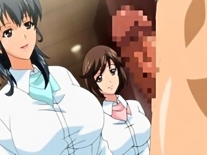 Attractive hentai girls sharing their desire for hard cock