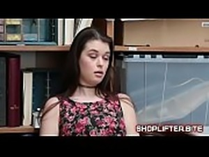 Shoplifting Teen Can Fuck Secuirty Or Go To Prison