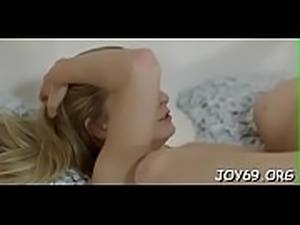 Lustful lesbian gals get gratified of licking and fingering