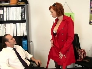 Redhead with an anal fetish