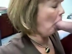 Mature Head 38 (Office Slut doing her Job)
