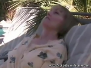 MILF Makes His Cock Hard