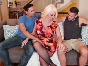 Some wild bisexual MMF threesome shit gonna happen with Alura Jenson