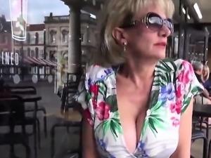 Unfaithful english milf gill ellis exposes her massive hoote