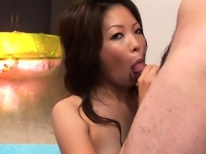 That small cock gets sucked and then it gets larger