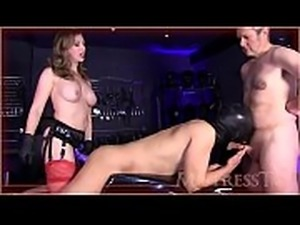 Broken In Bi Spit Roast - Mistress T